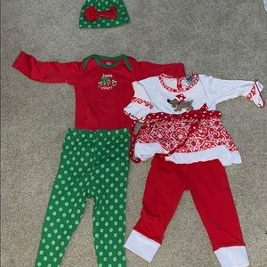 Christmas Outfits 24 months